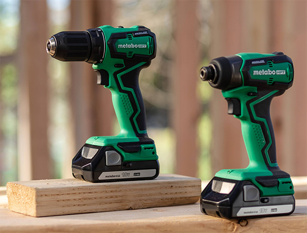 Metabo HPT Sub-Compact Cordless Drill and Impact Driver