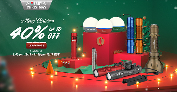 Olight Christmas 2020 Flash Sale