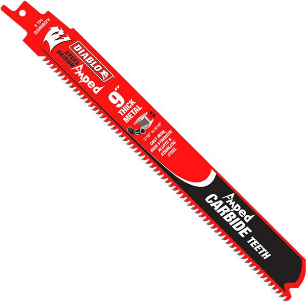 Diablo Amped Metal-Cutting Reciprocating Saw Blade