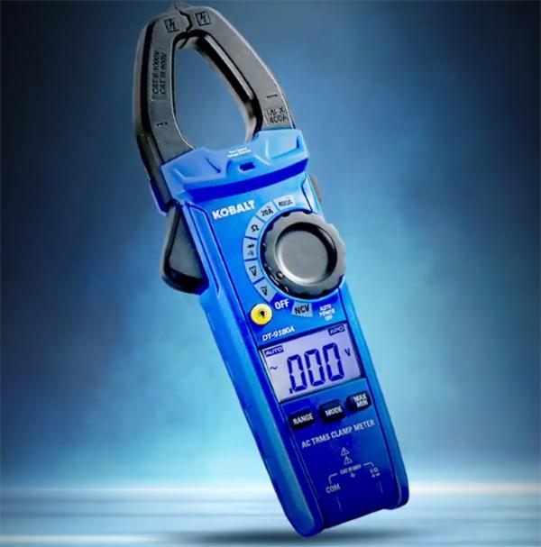 Kobalt Digital Clamp Meter at Lowes