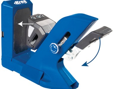 Kreg 720 Pocket Hole Drilling Jig Clamping Action