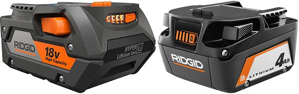 Ridgid 18V 4Ah Battery Redesign 2021