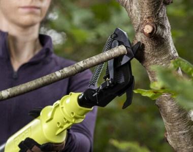 Ryobi Cordless Lopper Kit P4363 Trimming Tree Branch