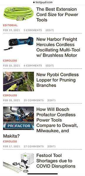 ToolGuyd Previous Mobile Layout 2-2021
