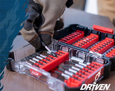 Bosch Driven Screwdriver Bits Launch