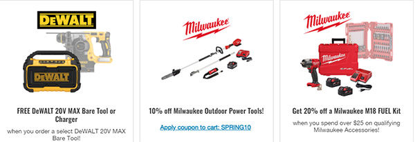 CPO Tool Deals March 2021