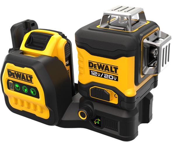 Dewalt DCLE34030G 20V Max 3x360 Green Line Laser