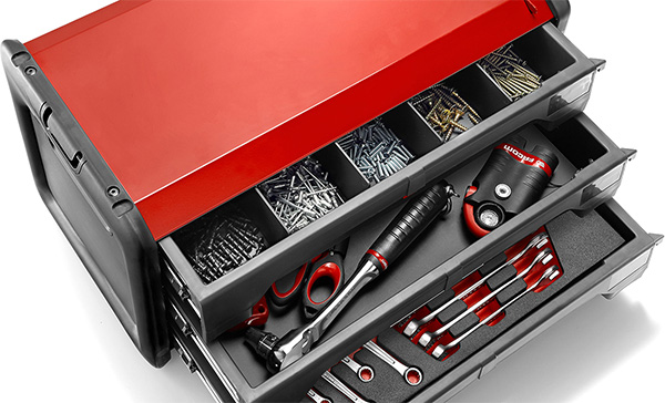 Facom 3-Drawer Tool Box Organizing Accessories