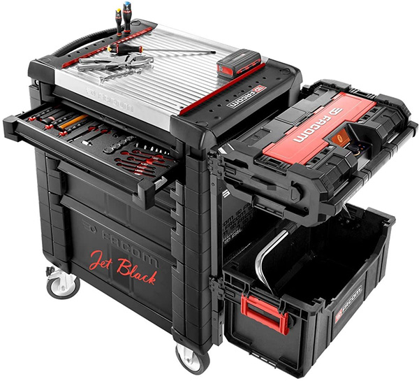Facom Tool Box and ToughSystem Combo