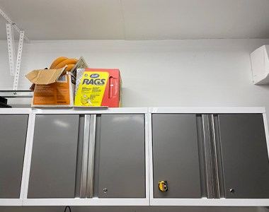 Garage Cabinets with Ceiling Space
