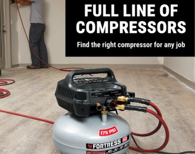 Harbor Freight Air Compressor Newsletter Image