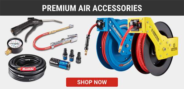 Harbor Freight Air Compressor Premium Accessories Newsletter Image
