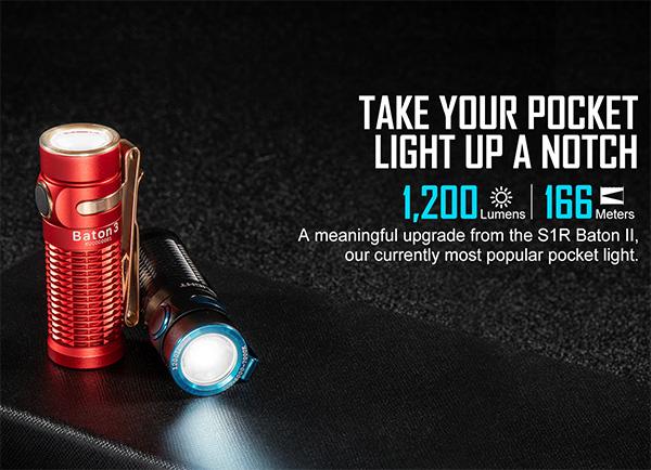 Olight Baton 3 LED Flashlights