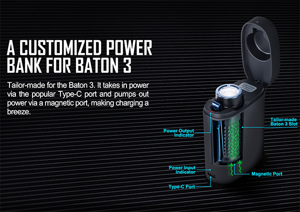 Olight Baton 3 Power Bank