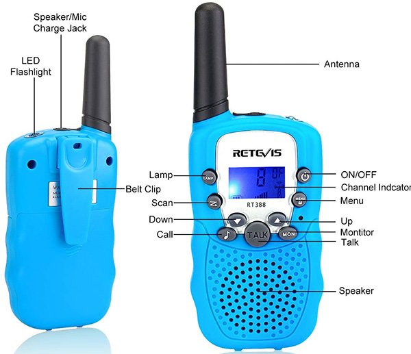 Retevis RT388 Walkie Talkies