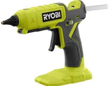 Ryobi 18V One+Dual Temperature Glue Gun Product Image