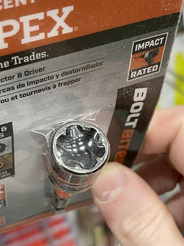 Crescent Apex Bolt Biter Nut Driver Closeup