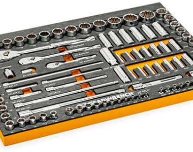 Gearwrench 120XP Socket Set with Pre-Cut Foam Tray