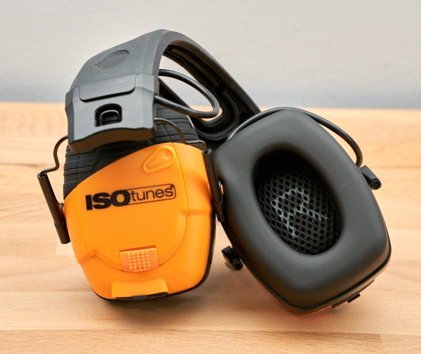 Isotunes Link Earmuffs Earcup