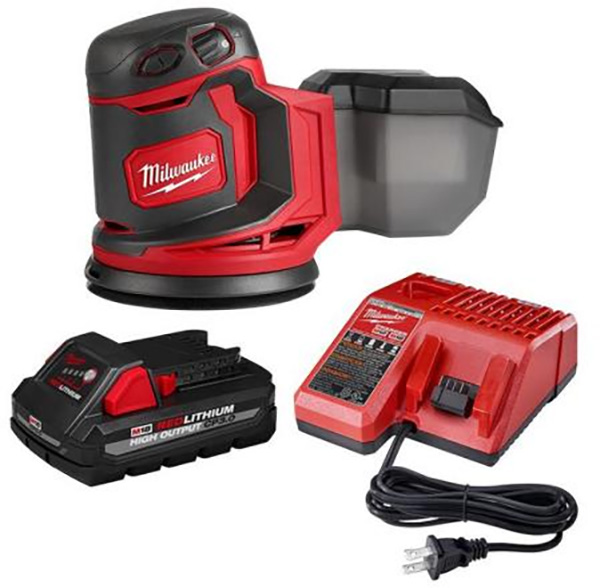 Milwaukee M18 Home Depot Deals of the Day 4-8-2021 Sander Bundle
