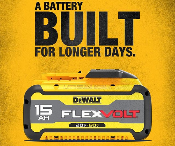 Dewalt DCB615 Cordless Power Tool Battery