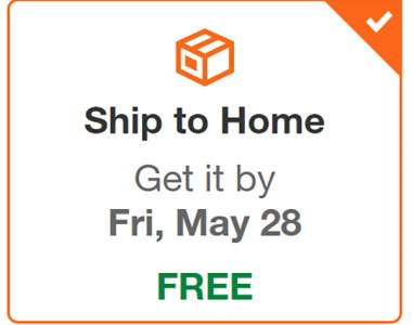 Home Depot Free Shipping on Tools
