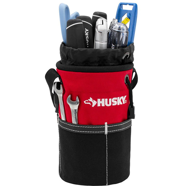 Husky Utility Pouch with Hand Tools