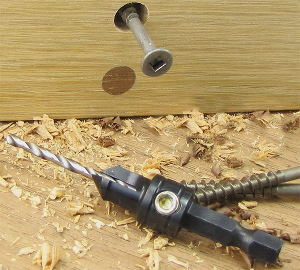 Snappy Countersink Drill Bit Example Use