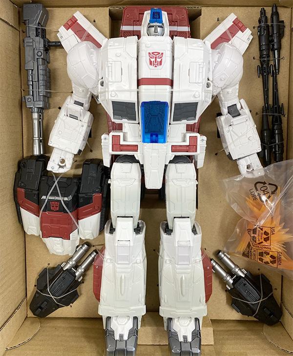 Transformers Jetfire Packaging