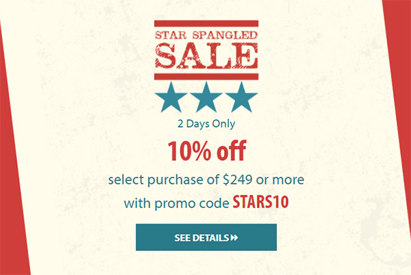 Acme Tools Star Spangled Sale