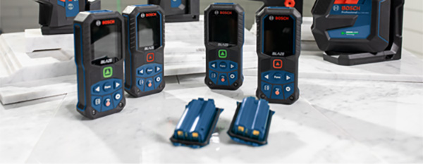Bosch Accuracy Deviation Laser Distance Measuring Tools