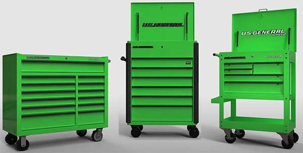 Harbor Freight Full Bank Service Cart Size Comparison