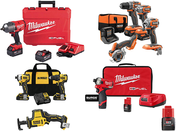 Home Depot Tool Deals of the Day 6-22-21