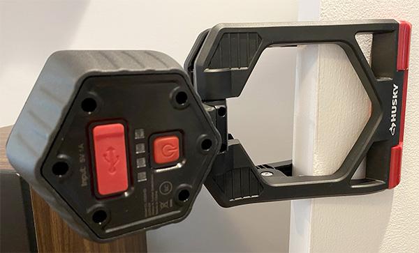 Husky LED Clamp Worklight on Door