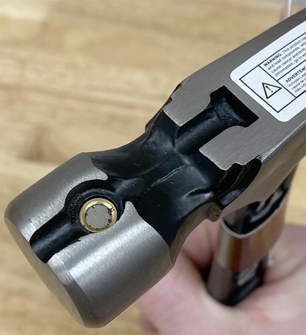 Husky Steel Hammer Nail Magnet