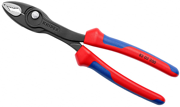 Knipex TwinGrip Pliers Jaws with MultiGrip Handles