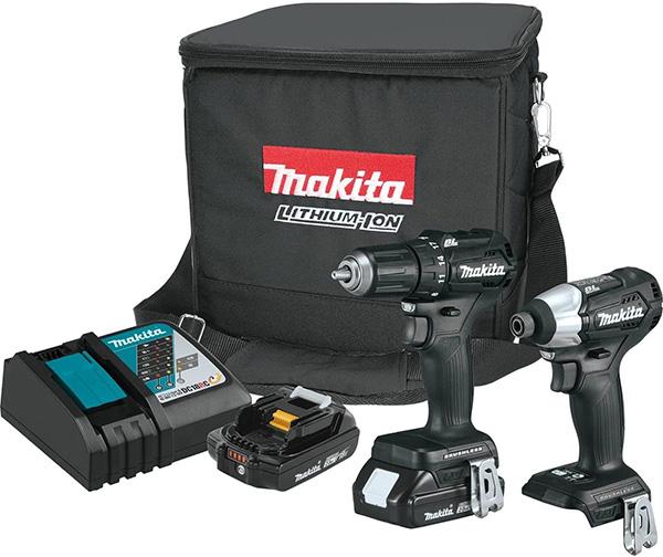 Makita CX200RB Sub-Compact Cordless Drill and Impact Driver Combo Kit