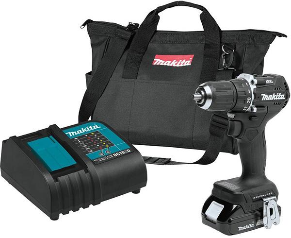 Makita XFD15SY1B 18V SubCompact Cordless Drill Kit