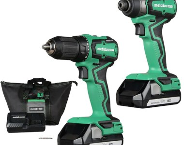Metabo HPT SubCompact Cordless Drill and Impact Driver Combo Kit KC18DDXM