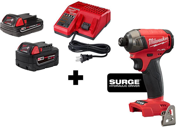 Milwaukee M18 Surge Fathers Day 2021 Special Buy Kit Deal