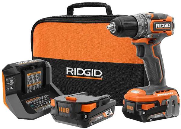 Ridgid 18V Subcompact Drill Kit