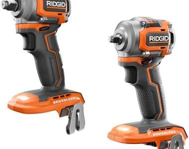 Ridgid 18V Subcompact Impact Wrench Bundle Deal
