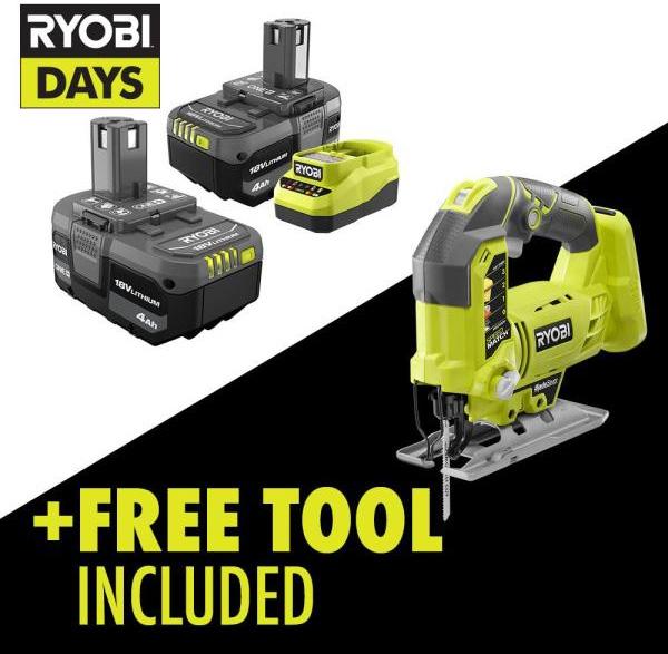 Ryobi Days Fathers Day 2021 Free Tool Promo