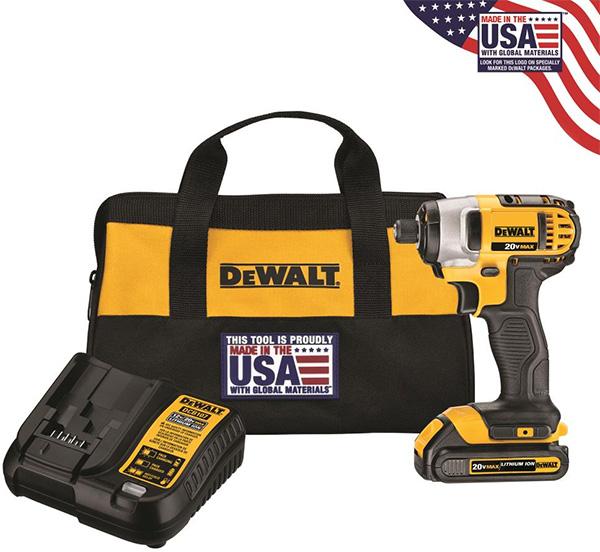 Dewalt DCF885C1 20V Max Cordless Impact Driver Kit