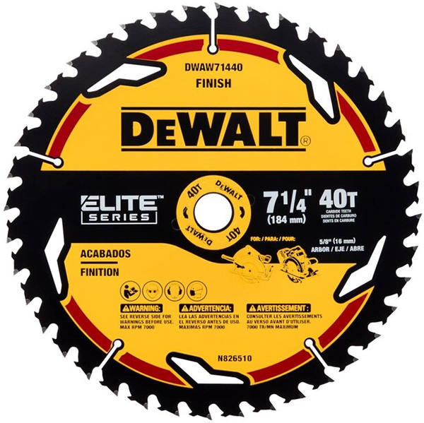 Dewalt Elite Series Circular Saw Blade