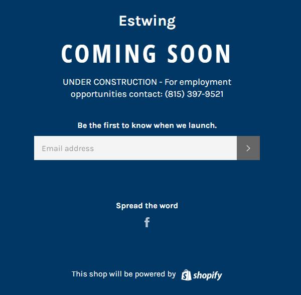 Estwing Website 2021