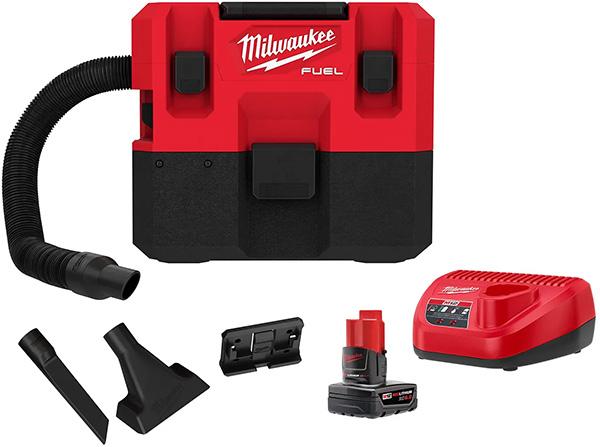 Milwaukee M12 Fuel Cordless Vacuum Kit