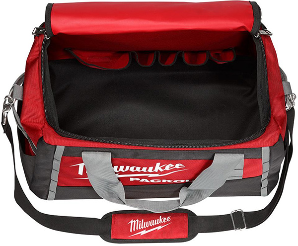 Milwaukee Packout 20-inch Tool Bag Open Compartment