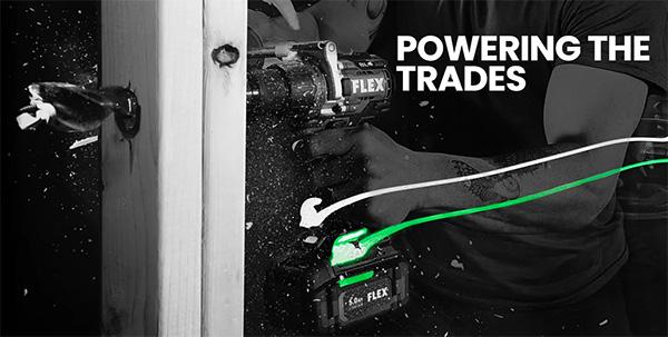 Flex Tools Powering the Trades