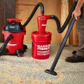 Harbor Freight Bauer Cyclone Dust Separator with Vacuum and 5 Gallon Bucket